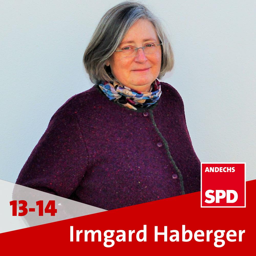 Dipl.-Ing. (FH) Irmgard Haberger